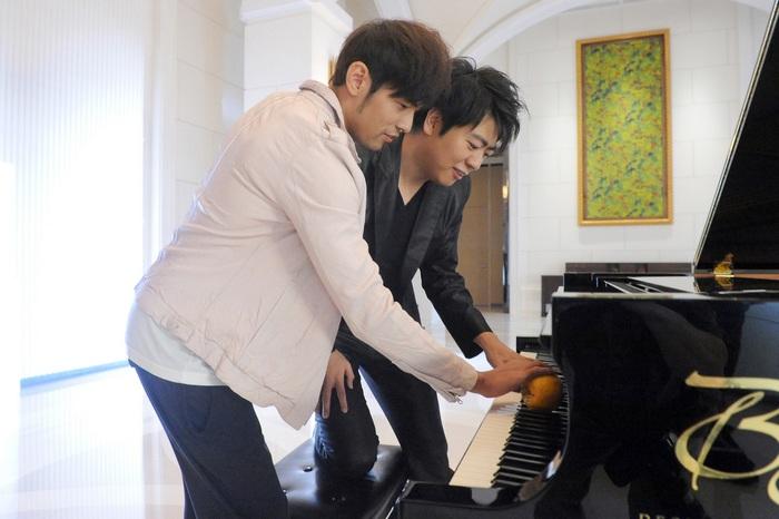 周杰伦/郎朗亲授周杰伦用橘子弹钢琴