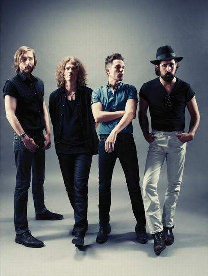 美国摇滚天团The Killers乐队首次来华开唱