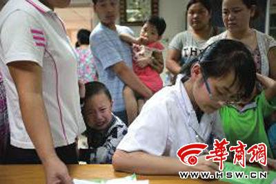 陕西一幼儿园70余儿童食物中毒