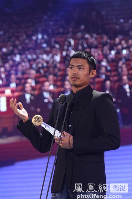 林丹:获颁华人大奖很幸运