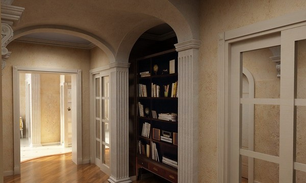 拱形门电视背景墙; 欧式家居风 12款家居拱形壁龛设计;; 拱形电视背景