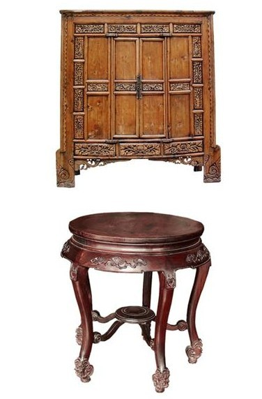 明式家具以展现木材的天然色泽和纹理