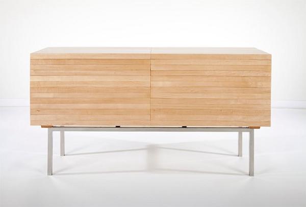 Ebastian Errazuriz木制橱柜:爆炸式设计创意爆棚