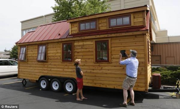 美国购房新潮流:可以随时移动的小木屋