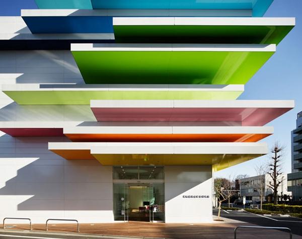 顶级设计都用鲜艳色彩 空间从此不再单调