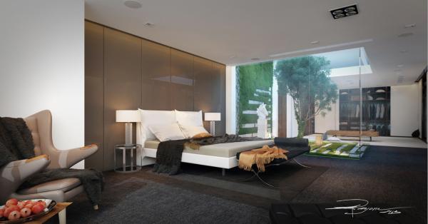 30个卧室设计:给自己一个华丽的卧室做一个美美的梦
