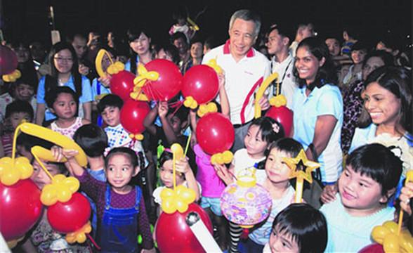 新加坡中秋游园活动