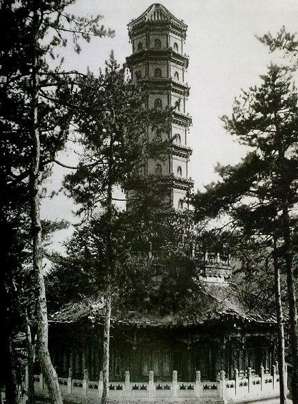 建筑师拍摄的中国佛塔