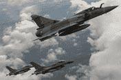 北约战机巡航威慑俄