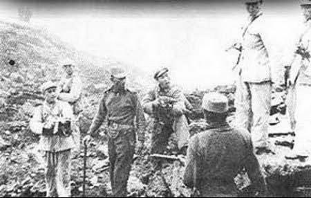 1962年中印边境对峙 两国士兵刺刀相向