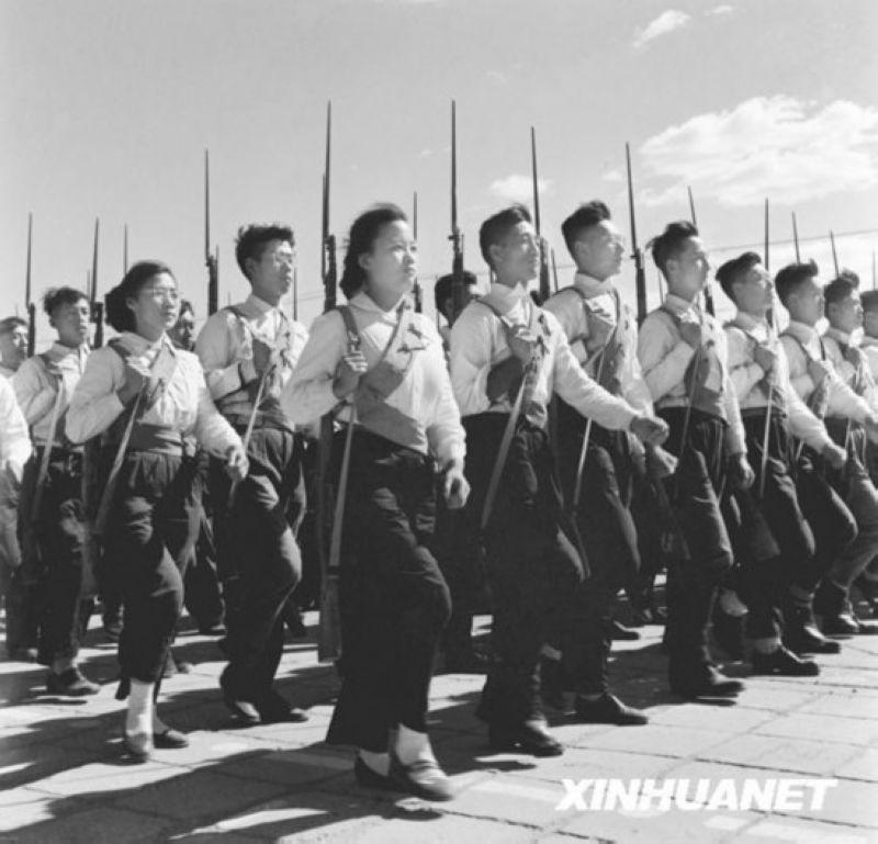 建国大阅兵1949―2014 - wzx - 话说哈尔滨―天鹅项下的珍珠城