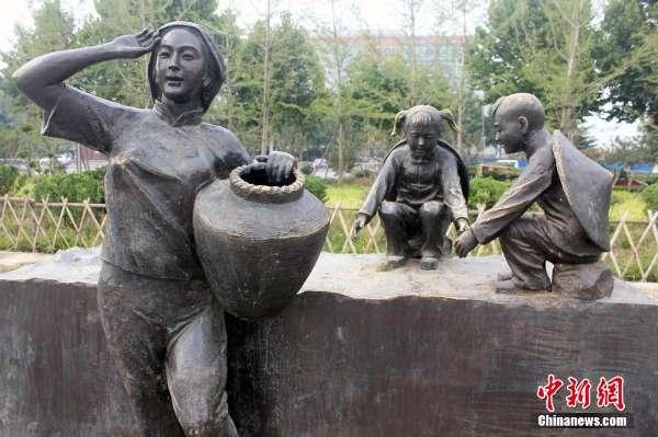 郑州生态廊道雕塑盗损严重 市民盼加强保护