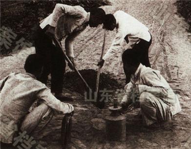 山东公布海阳地雷战资料 民兵发明数十种地雷