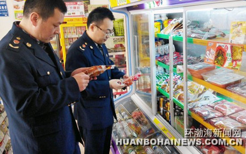 唐山路北区工商局加大食品市场检查力度