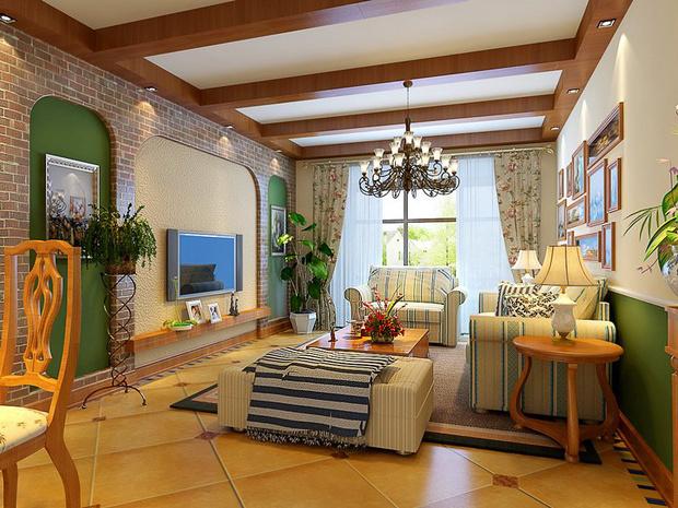 英式田园风格装修 清新质朴的住宅空间