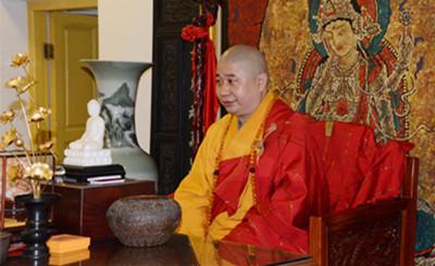 乙未年农历正月初八日 南普陀寺举行退职仪式