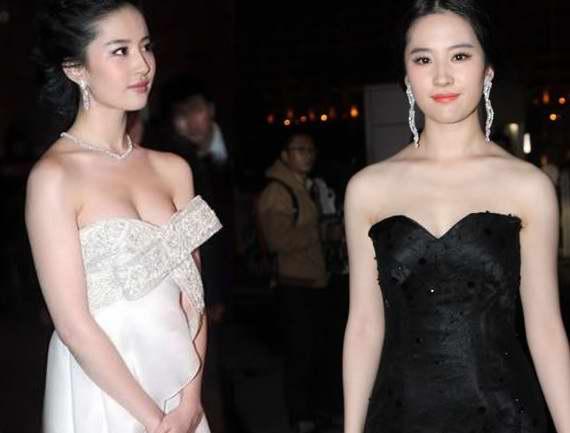 刘亦菲给人的印象,一直是清纯乖巧,不过近来转型,还是会选择比较性感