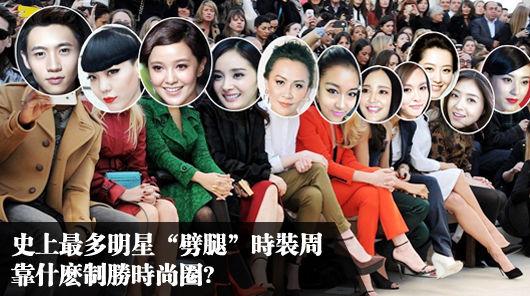 外媒盘点中国9大时尚偶像