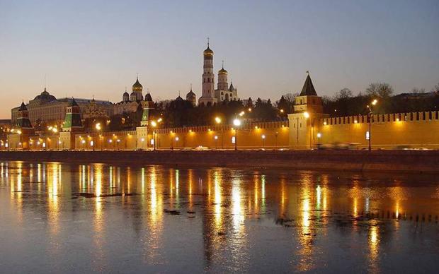 莫斯科的晚上