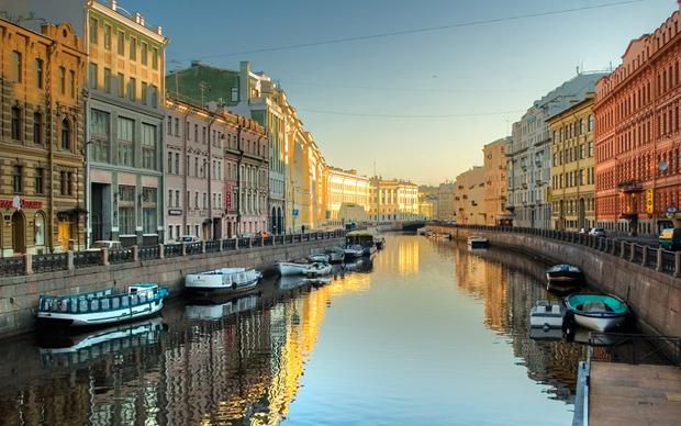 美丽的圣彼得堡
