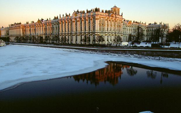 圣彼得堡雪景
