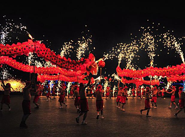 国外中秋习俗 越南中秋节儿童唱主角