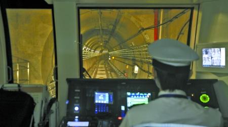 重庆地铁一号线秘闻 三成曾是战时防空洞?