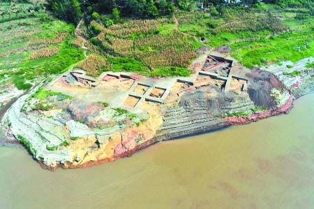 忠县洋渡镇明代炼锌遗址俯瞰市文化遗产研究院供图