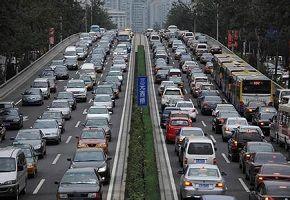 北京大堵车