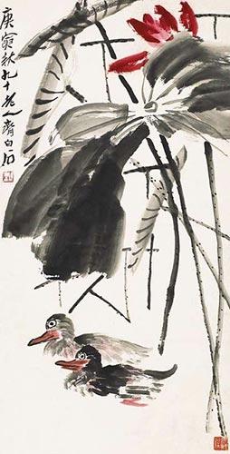 熟悉中国艺术和美国现代艺术的滕白也(1900~1980),就曾将写意画称作&