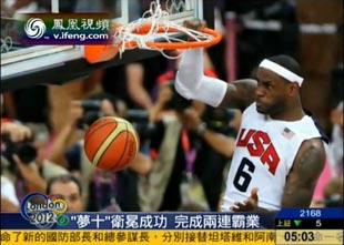 奥运男篮巅峰对决 美国艰难战胜西班牙
