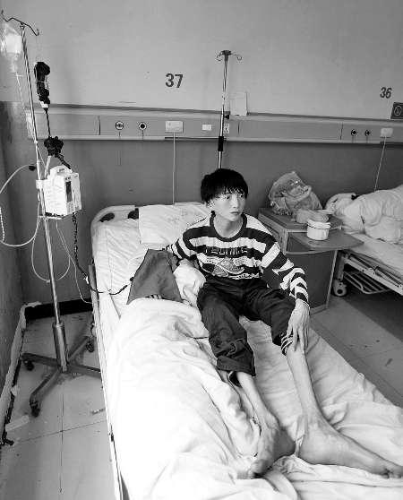 14岁体重不到60斤 男孩患怪病 同