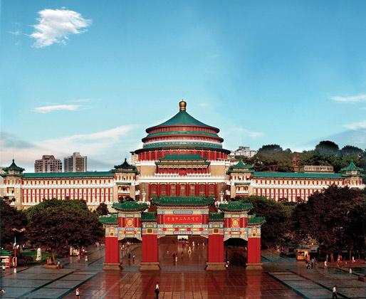 重庆公安局告示仍鼓励举报黑恶 大礼堂广场未禁止歌舞
