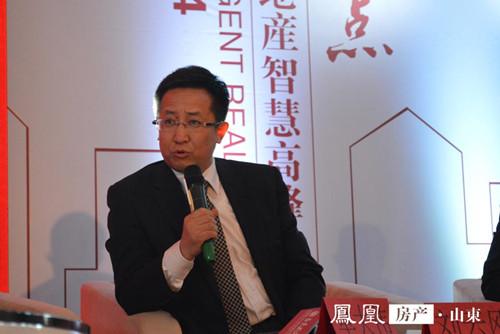 刘云刚:青岛市场走势稳健 交通商务区发展潜力大_凤凰