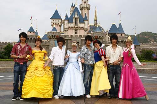 飞轮海/香港迪士尼乐园:与米奇米妮一起玩吧
