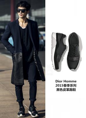 张晓晨 in Dior2015春季系列