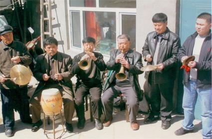黑龙江非物质文化遗产 杨小班鼓吹乐棚