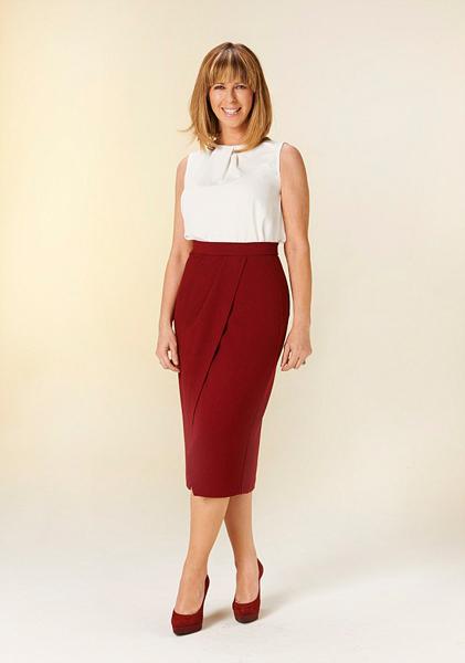 英国美女主播凯特・加洛威谈铅笔裙
