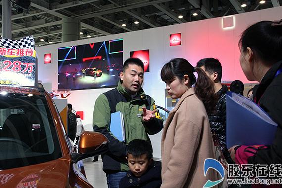 烟台车展首日售车千辆 无车模或成新常态图片 212571 570x380