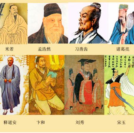 襄阳十大历史文化名人
