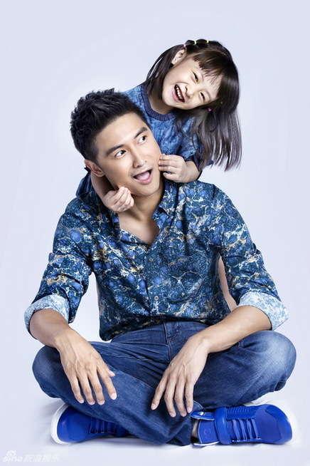 田亮的女儿和儿子