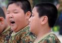 军训看中韩学生差别