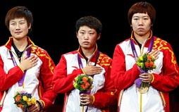 女乒团体夺冠