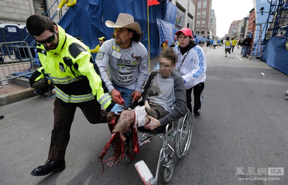 恐怖的波士顿--场面吓死人
