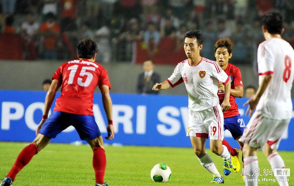 东亚四强赛-中国男足0-0韩国