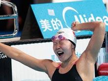 游泳世锦赛,赵菁,傅园慧,50米仰