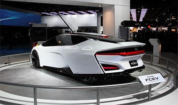 本田新车酷似导弹 超拉风外观/如此新车谁能不爱