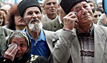 不愿入俄罗斯的克里米亚鞑靼人 60年前被斯大林屠杀三成