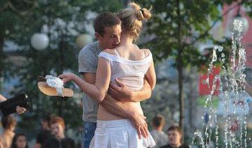 乌克兰街拍:曾经的美女国度
