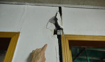 杭州现D级危房 墙壁满是裂痕